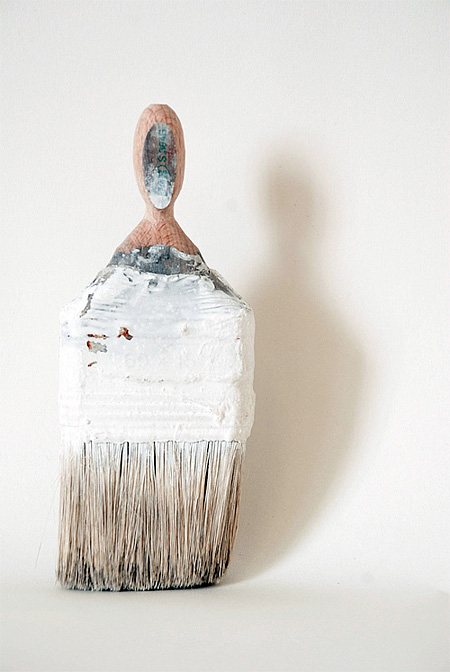 Paintbrush Sculpture