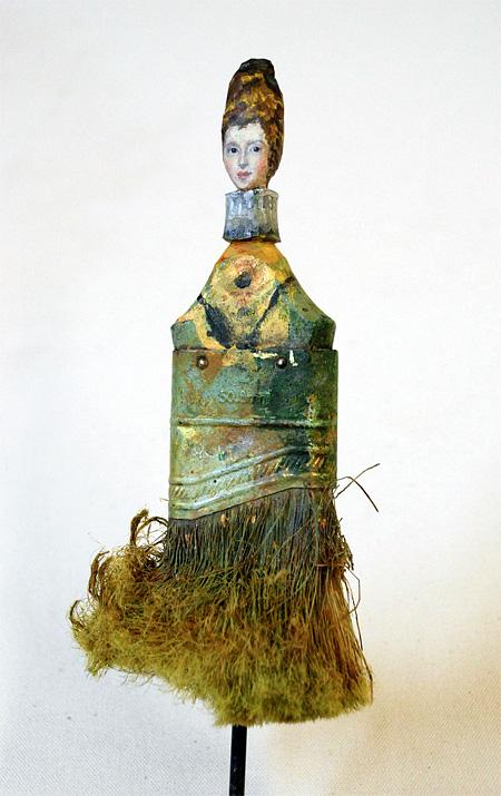 Rebecca Szeto Paintbrush Sculptures
