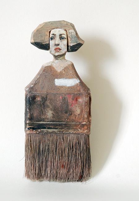 Rebecca Szeto Paintbrush Carving