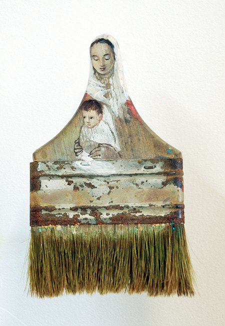 Rebecca Szeto Carved Paintbrush