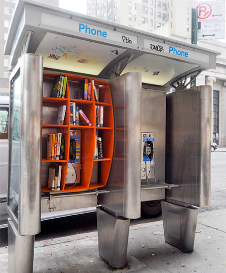 Phone Booth Public Library