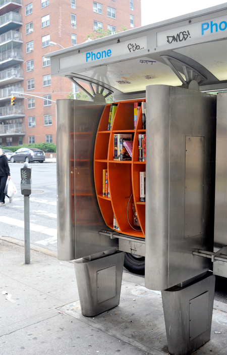 Phone Booth Library in New York
