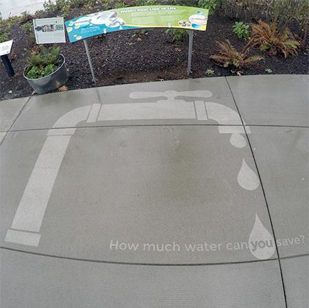 Rain Street Art