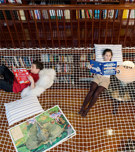 Suspended Reading Net