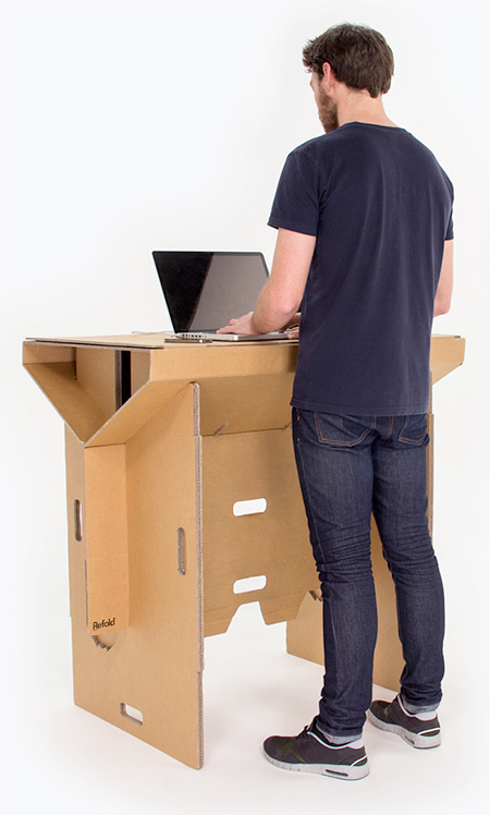 Foldable Cardboard Desk