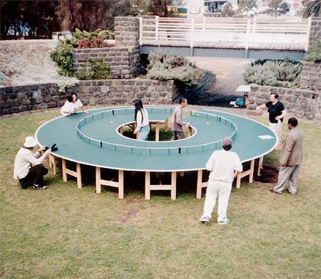 Round Ping Pong