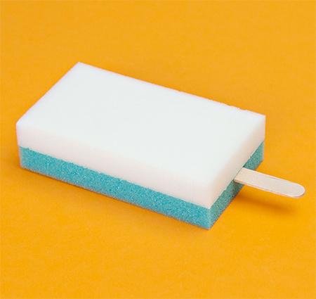 Sponge Ice Cream by PutPut