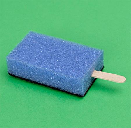 PutPut Sponge Popsicles
