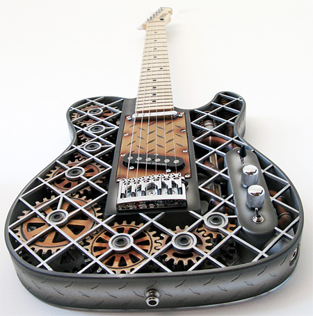 Steampunk Inspired Guitar