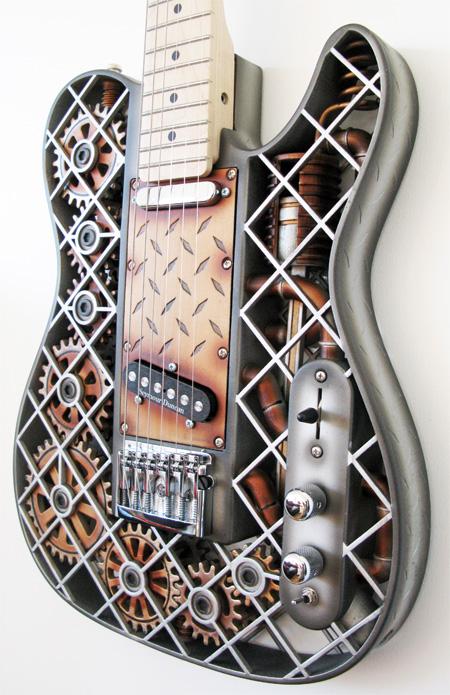 Steampunk Themed Guitar