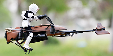 Speeder Bike Quadcopter