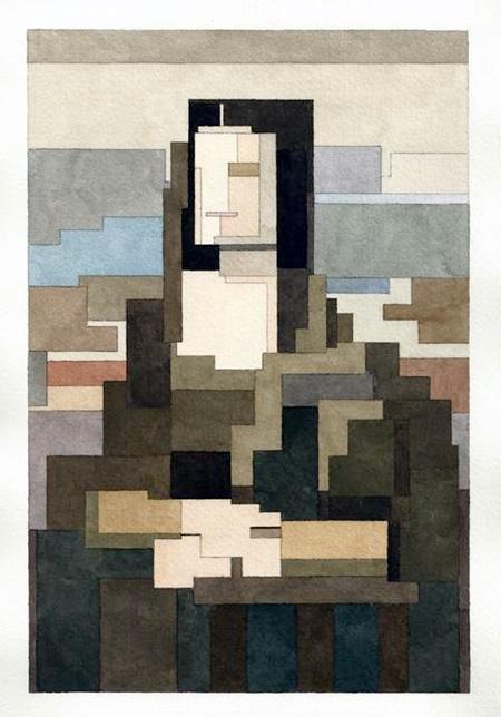 8-Bit Mona Lisa