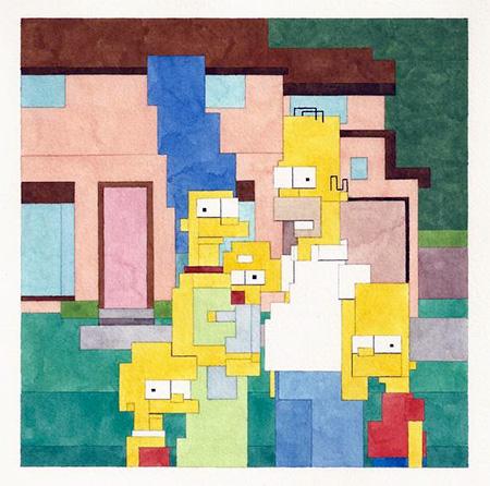 8-Bit Simpsons
