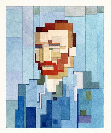 8-Bit Vincent van Gogh