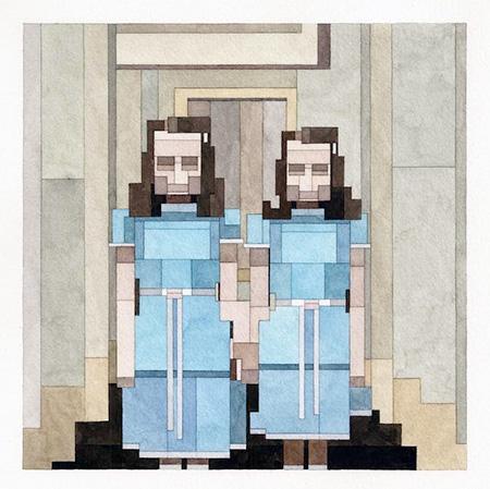 8-Bit Grady Twins