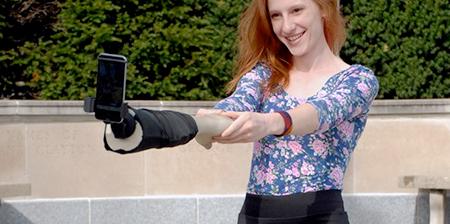 Human Arm Selfie Stick