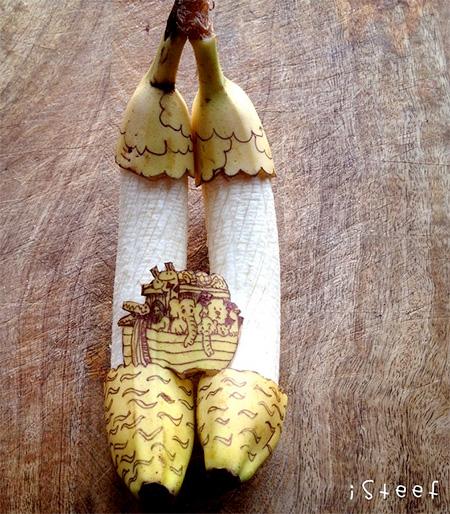 Banana Artist Stephan Brusche