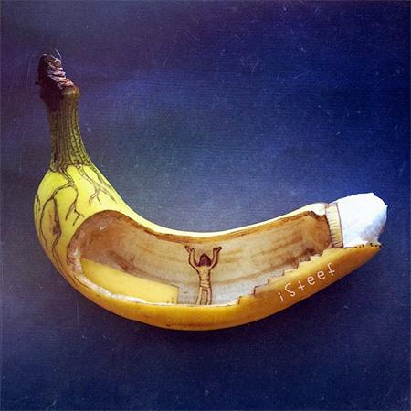 Stephan Brusche Banana Sculptures