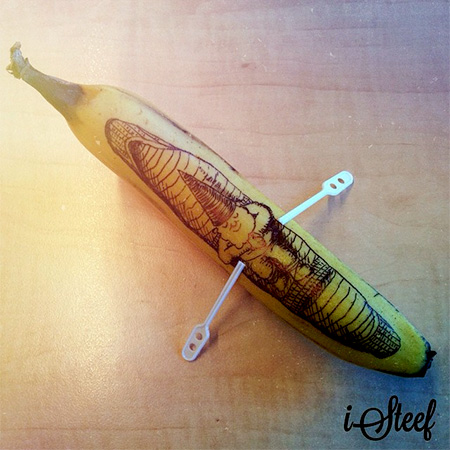 isteef Banana Sculptures
