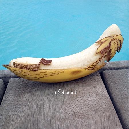 Banana Sculptures