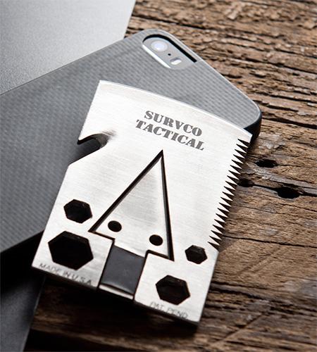 SURVCO Credit Card Axe
