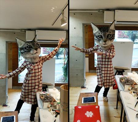 Cat Head Costume