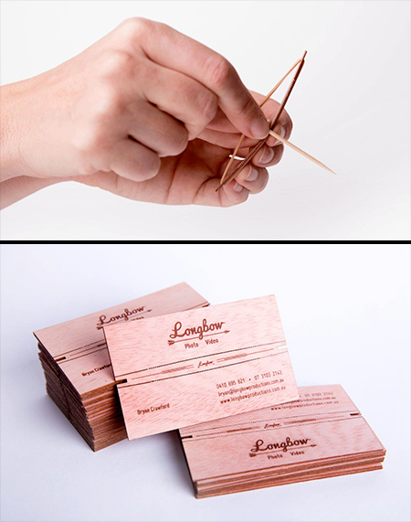 Bow and Arrow Business Card