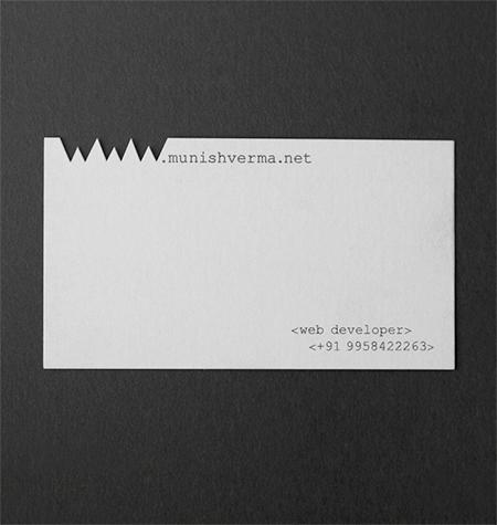 WWW Business Card