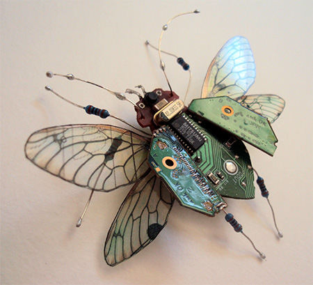 Circuit Board Butterflies