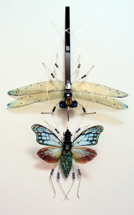 Circuit Board Butterfly