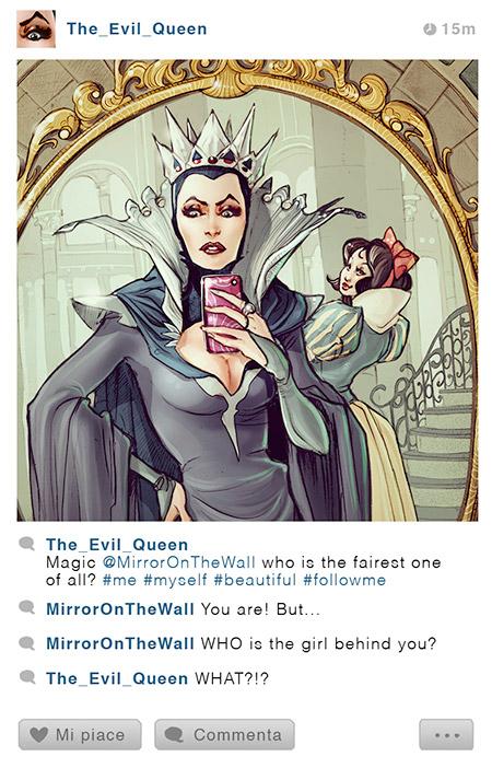 Disney Princesses Instagram