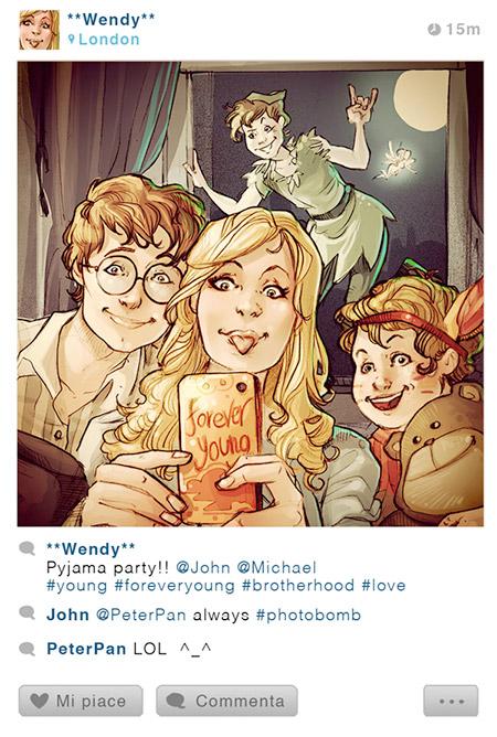 Disney Characters Instagram