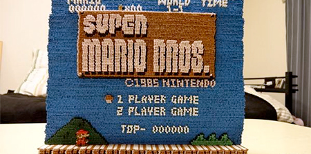 Super Mario Toothpicks