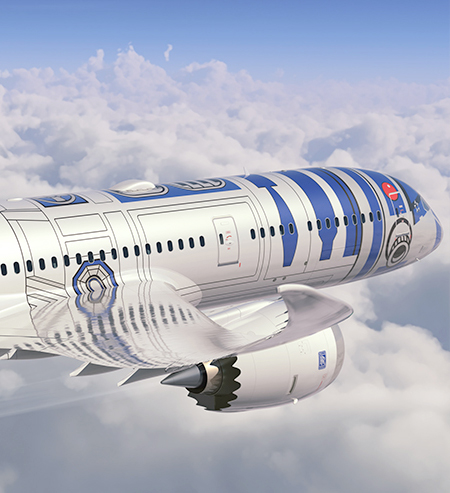 Star Wars Inspired Plane