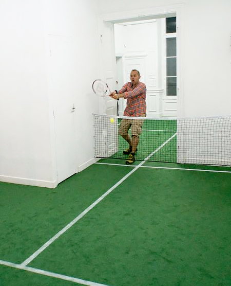 Benedetto Bufalino Tennis Court Apartment