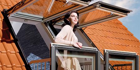 Windows Transform into Balconies