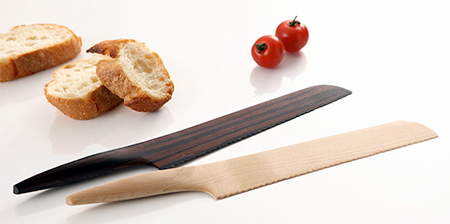 Knives Made of Wood