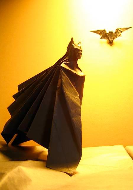 Brian Chan Batman Origami