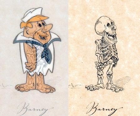 Barney Skeleton