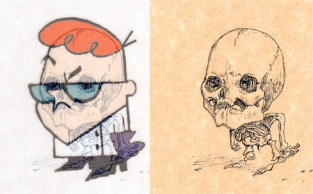 Dexter Skeleton