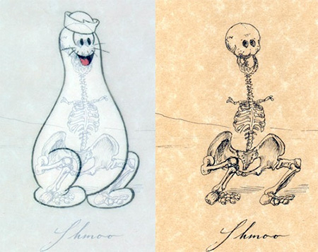 Shmoo Skeleton