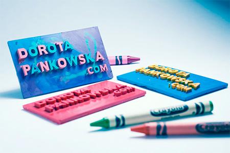 Crayon Business Card