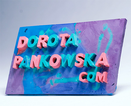 Melted Crayon Business Cards