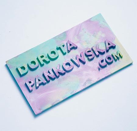 Dorota Pankowska Crayon Business Card