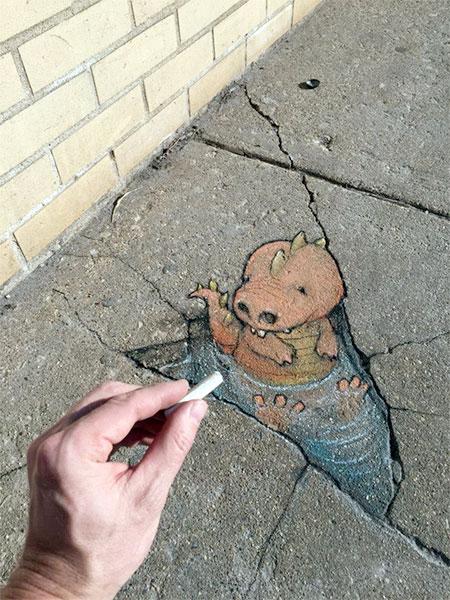 American Street Artist David Zinn