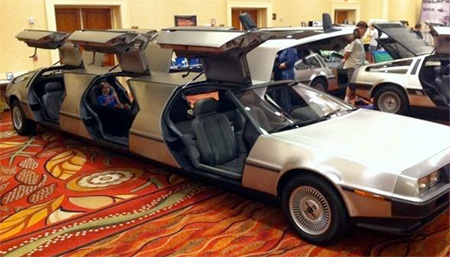Back To The Future Limousine