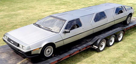 Back To The Future Limo