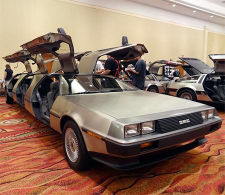 DeLorean Time Machine Limousine