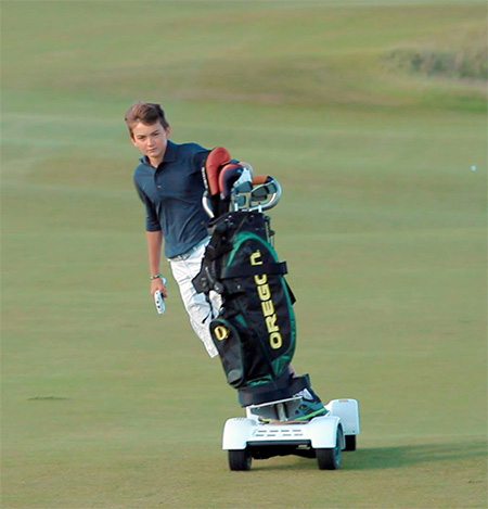 Skateboard Golf Cart