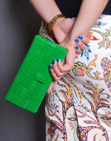 Handbag Made of LEGO